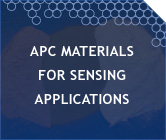 APC Materials for Sensing Applications