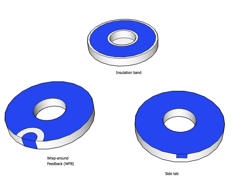 Piezo Electrode Patterns Piezoelectric Electrodes